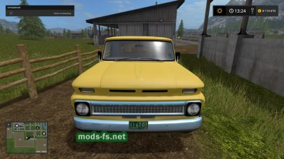 Мод пикапа CUSTOM CHEVY для Farming Simulator 2017