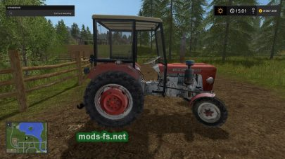 Мод URSUS C330 для Farming Simulator 2017