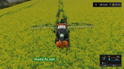 4Real Module 01 — Crop Destruction для Farming Simulator 2017