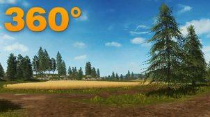Видеотур (360°) по Farming Simulator 2017