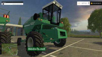Мод комбайна ARBOS 705A4L для Фермер Симулятор 2015