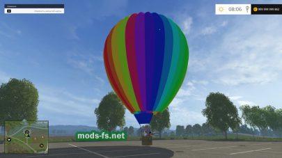 Мод Balloon Trip для FS 2015