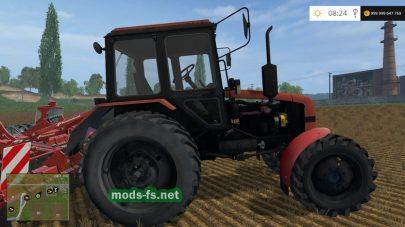 Мод трактора BELARUS 82