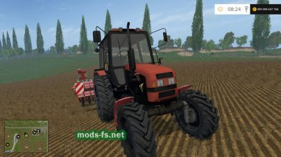 BELARUS 82 для Farming Simulator 2015