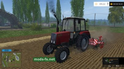Трактор Беларус 920 для Farming Simulator 2015