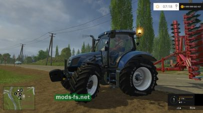NH T6.160/175 для Farming Simulator 2015