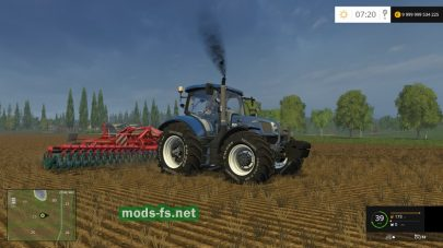 Трактор New Holland для FS 2015
