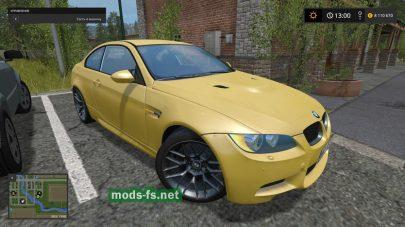 Скриншот мода BMW M3 E92