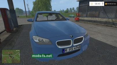 BMW M5 для Farming Simulator 2015