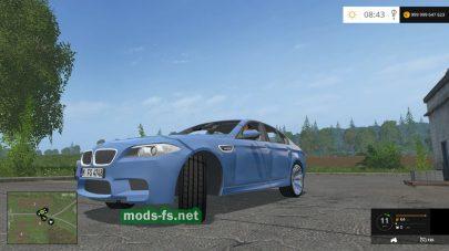 Легковой автомобиль BMW M5 для FS 2015