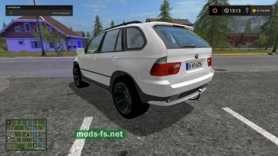 Мод BMW X5 для Farming Simulator 2017