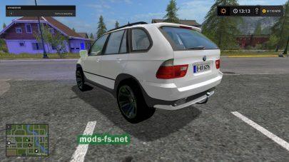 Мод BMW X5 для Farming Simulator 2017