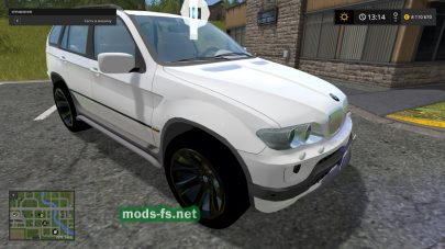 Скриншот мода BMW X5