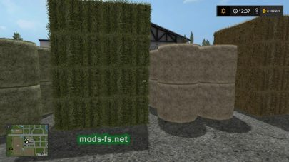 Скриншот мода «Buy Bales» (тюки соломы)