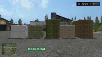 Мод на покупку тюков в Farming Simulator 2017