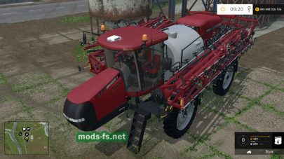 CASE IH 4440 Patriot Sprayer mods