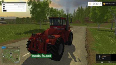 Мод трактора CASE STEIGER 9190