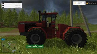 CASE STEIGER 9190 mods