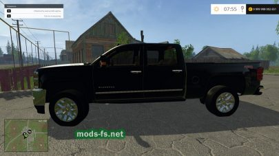 Мод джипа Chevrolet Silverado 2500