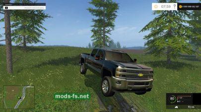 Мод автомобиля Chevrolet для