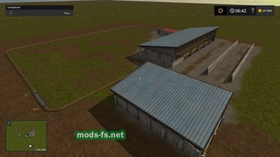 Чистая карта для Farming Simulator 2017