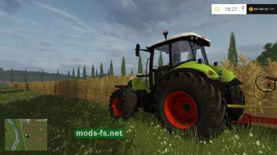 CLAAS ARION 620 FS 2015