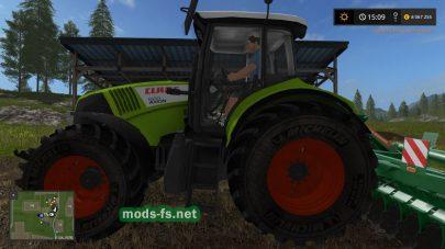 Трактор CLAAS AXION для Farming Simulator 2017