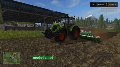 claas axion-820 mods FS 2017