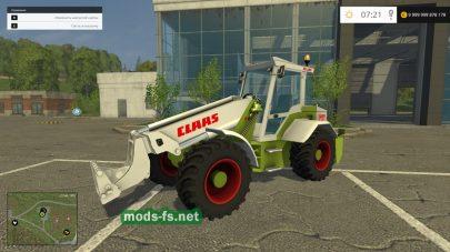 Скриншот мода Claas Ranger 940