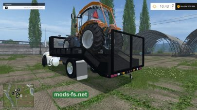 Мод Converted Landscaping Truck