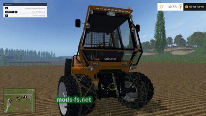 Трактор Deutz intrac forst для FS 2015