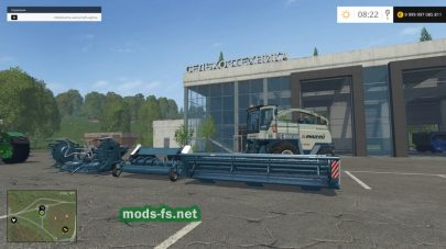 Мод комбайна Енисей-324 для Farming Simulator 2015