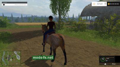 Мод Equestrian Woman Drivable