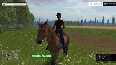 Мод коня для игры FS 2015
