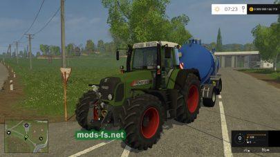 Мод трактора FENDT 818 VARIO TMS