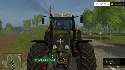 Мод трактора FENDT 818 для Farming Simulator 2015