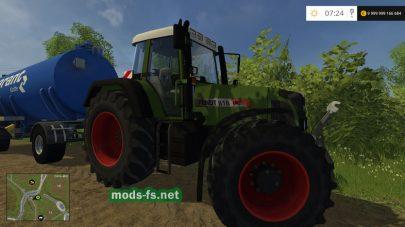 FENDT 818 mods