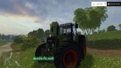 Скриншот мода fendt 818 vario tms