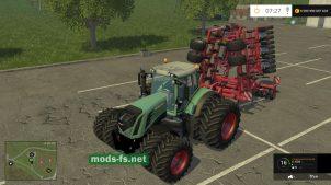 Мод трактора Fendt 939 S4