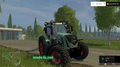 Fendt 939 S4 для Farming Simulator 2015