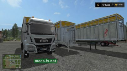 Мод Fliegl Animal Transport Pack для FS 2017