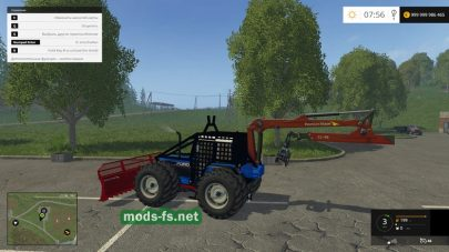 Ford 8340 Forestry mods