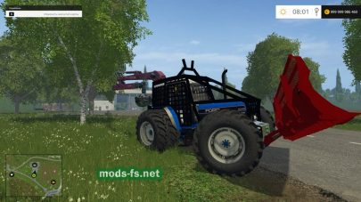 Ford 8340 Forestry