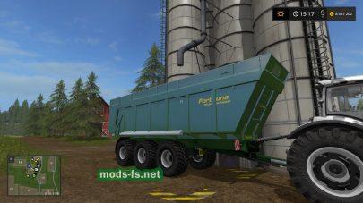 Мод прицепа FORTUNA FTM300 для Farming Simulator 2017