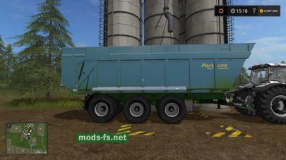 Прицеп для перевозки зерна в Farming Simulator 2017