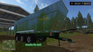 Прицеп для трактора в игре FS 2017