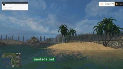 Остров в Farming Simulator 2015
