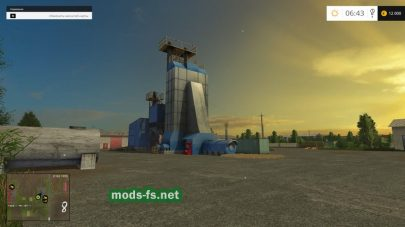 Заводы на ферме, в игре FS 2015
