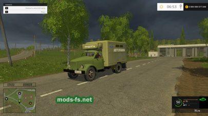 Мод ГАЗ 51 с фурой