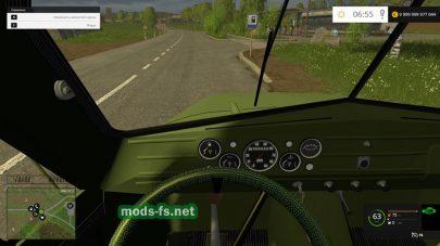 Грузовик ГАЗ 51 для Farming Simulator 2015